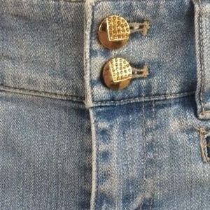 Cache Jeans - Cache Boot Cut Embellished Jewels Jeans Size 0